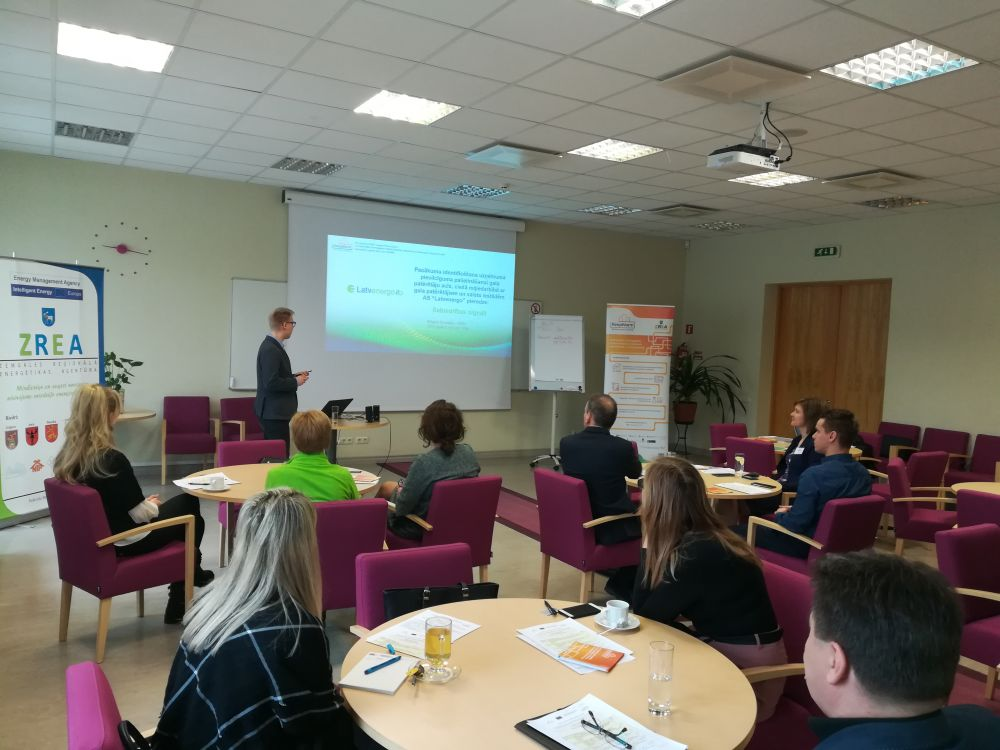 Training of Latvian DHS operators on managerial issues